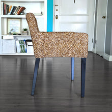Load image into Gallery viewer, Brown Leopard Print, IKEA NILS Chair Cover
