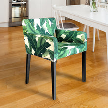 Load image into Gallery viewer, IKEA NILS Green Banana Leaf Chair Cover