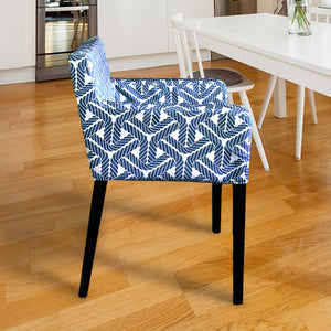 IKEA NILS Coastal Navy Rope Chair Cover