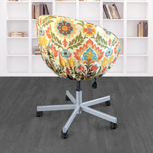 Load image into Gallery viewer, IKEA Floral SKRUVSTA Chair Slip Cover - Santa Maria Adobe