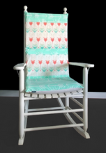 Load image into Gallery viewer, Mint Arrows Custom Rocking Chair Pad