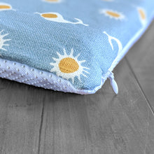 Load image into Gallery viewer, Blue Sun Pattern Slip Cover for IKEA HEMMAHOS Bench Pad