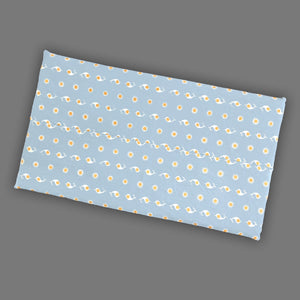 Blue Sun Pattern Slip Cover for IKEA HEMMAHOS Bench Pad