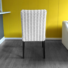 Load image into Gallery viewer, Mudcloth Arrows Beige IKEA HENRIKSDAL Dining Chair Cover