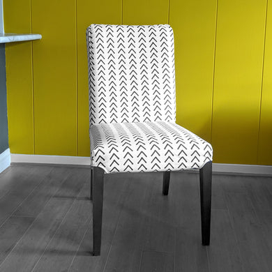 Mudcloth Arrows Beige IKEA HENRIKSDAL Dining Chair Cover