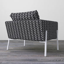 Load image into Gallery viewer, IKEA KOARP Armchair Covers, Arrows Black