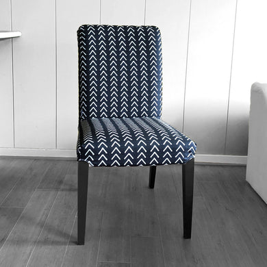 Mudcloth Arrows Black IKEA HENRIKSDAL Dining Chair Cover