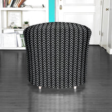 Load image into Gallery viewer, IKEA TULLSTA Chair Slip Cover, Mudcloth Black