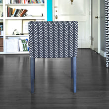 Load image into Gallery viewer, IKEA NILS Mudcloth Black Chair Cover