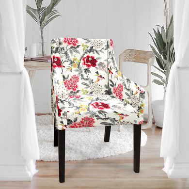 Sakarias chair cover, Candid Moment Ebony