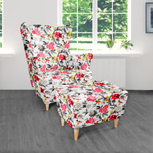 Custom Floral Print IKEA HENRIKSDAL Dining Chair Cover