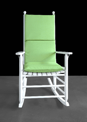 Sunbrella Outdoor Green Rocking Chair Pad, Green Seat Covers