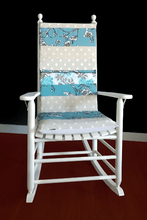Load image into Gallery viewer, Vintage Flower Blossom Rocking Chair Cushion