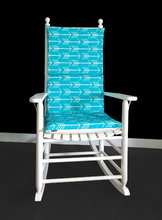 Load image into Gallery viewer, Adjustable Rocking Chair Cover, Arrows Rocking Chair Pad Covers