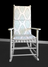 Load image into Gallery viewer, Patterned Rocking Chair Cushion