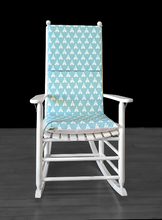 Load image into Gallery viewer, Indian Wig Wam Rocking Chair Cushion, Tee Pee Seat Covers
