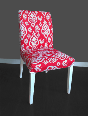 SALE Indian Style Henriksdal Seat Cover, Custom India Theme Ikea Cover