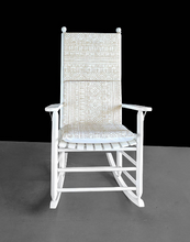 Load image into Gallery viewer, Beige Rocking Chair Cushion Covers Set