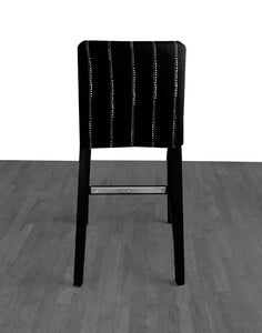 Black Dot Print, IKEA HENRIKSDAL Bar Stool Chair Cover