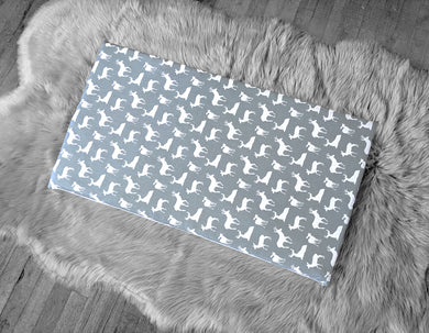 Deer Gray IKEA STUVA Bench Pad Slip Cover