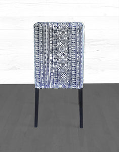 IKEA HENRIKSDAL Dining Chair Cover, Devada Navy Blue