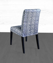 Load image into Gallery viewer, IKEA HENRIKSDAL Dining Chair Cover, Devada Navy Blue