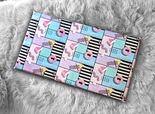 Load image into Gallery viewer, Colorful Diner, 80's Donuts IKEA HEMMAHOS Bench Pad Slip Cover