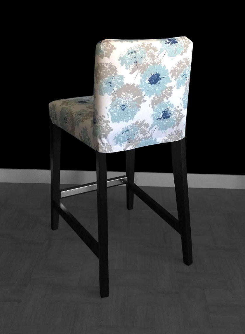 Pastel Flower Rocking Chair Cushion And Cover