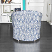 Load image into Gallery viewer, IKEA TULLSTA Chair Cover, Indigo Blue Boho