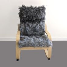 Load image into Gallery viewer, Cosy Gray Fur Kids Ikea Poang Chair Cover