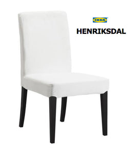 IKEA Henriksdal Dining Chair Cover, Blush Pink Velvet