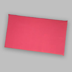 Solid Hot Pink IKEA Window Seat Cushion Cover