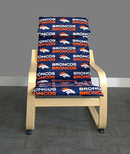 Load image into Gallery viewer, Broncos IKEA KIDS POÄNG Cushion Slipcover Ready to Ship