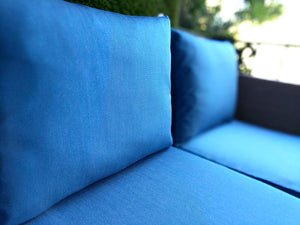IKEA Blue OUTDOOR Slip Cover, Ikea Cushion Covers, Custom Ikea Decor, Bespoke Arholma Covers, Sunbrella Regatta Blue