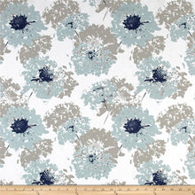 Load image into Gallery viewer, Fairy Floral Blue IKEA KIDS POÄNG Cushion Slipcover