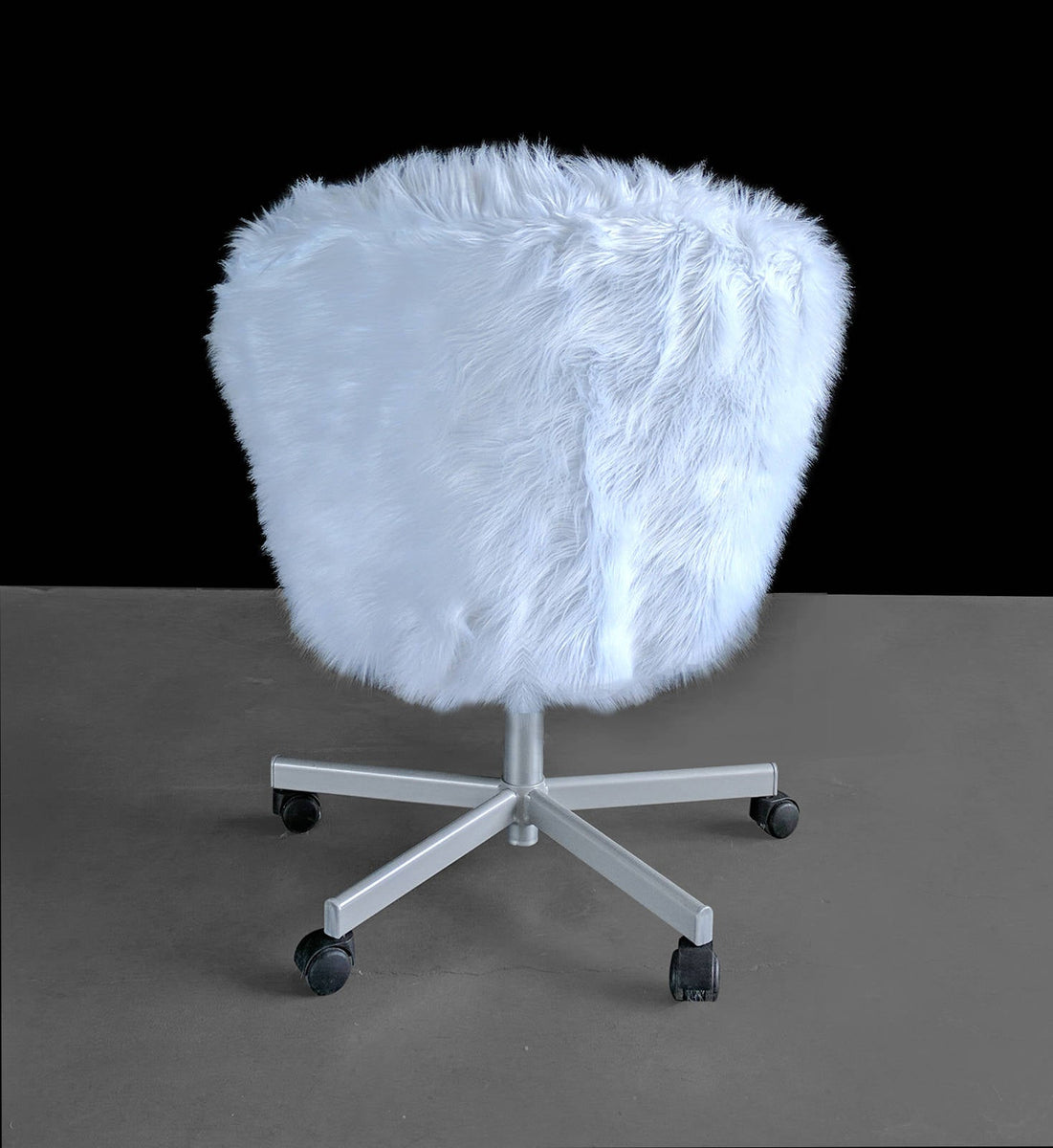 Picture of: Ikea White Fur Skruvsta Chair Slip Cover Affordable Designer Custom Handmade Trendy Fashionable Locally Made High Quality