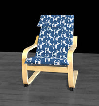 Load image into Gallery viewer, Boys Rocking Horse Print POÄNG Cushion Slip Cover