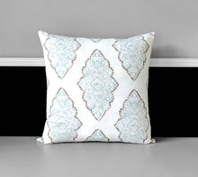 Load image into Gallery viewer, Shabby Chic White Pillow Cover