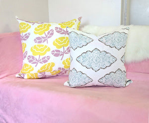 Shabby Chic White Pillow Cover
