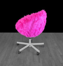 Load image into Gallery viewer, IKEA SKRUVSTA Chair Slip Cover, Hot Pink Fur