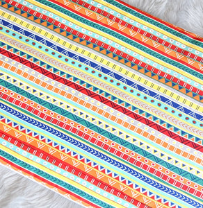 Colorful Fiesta Stripe IKEA VISSLA Bench Pad Slip Cover