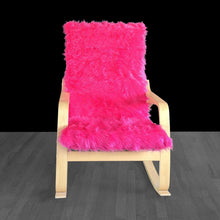 Load image into Gallery viewer, Hot Pink Fur IKEA POÄNG