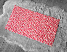 Load image into Gallery viewer, Spotty Red IKEA Bench Pad Slip Cover