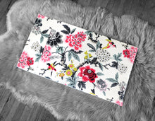Load image into Gallery viewer, Colorful Flowers IKEA STUVA Bench Pad Slip Cover, Birds