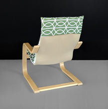 Load image into Gallery viewer, Custom Green IKEA KIDS POÄNG Cushion Slipcover