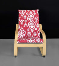 Load image into Gallery viewer, Red IKEA KIDS POÄNG Cushion Slipcover