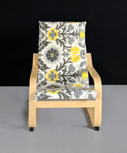 Load image into Gallery viewer, Kids Floral Ikea Poang Chair Cover, Ikea Kids Poang Seat Cover