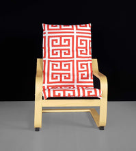 Load image into Gallery viewer, Red Squares IKEA KIDS POÄNG Cushion Slipcover