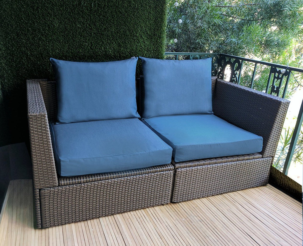 IKEA Blue OUTDOOR Slip Cover, Ikea Cushion Covers, Custom Ikea Decor, Bespoke Arholma Covers, Sunbrella Sapphire Blue