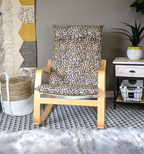 Load image into Gallery viewer, Leopard Animal Print IKEA POÄNG Cushion Slipcover